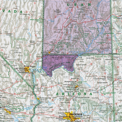 Map Of Arizona Strip.Arizona Strip Arizona Rediscover The Usa