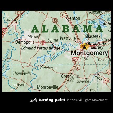 Selma alabama map