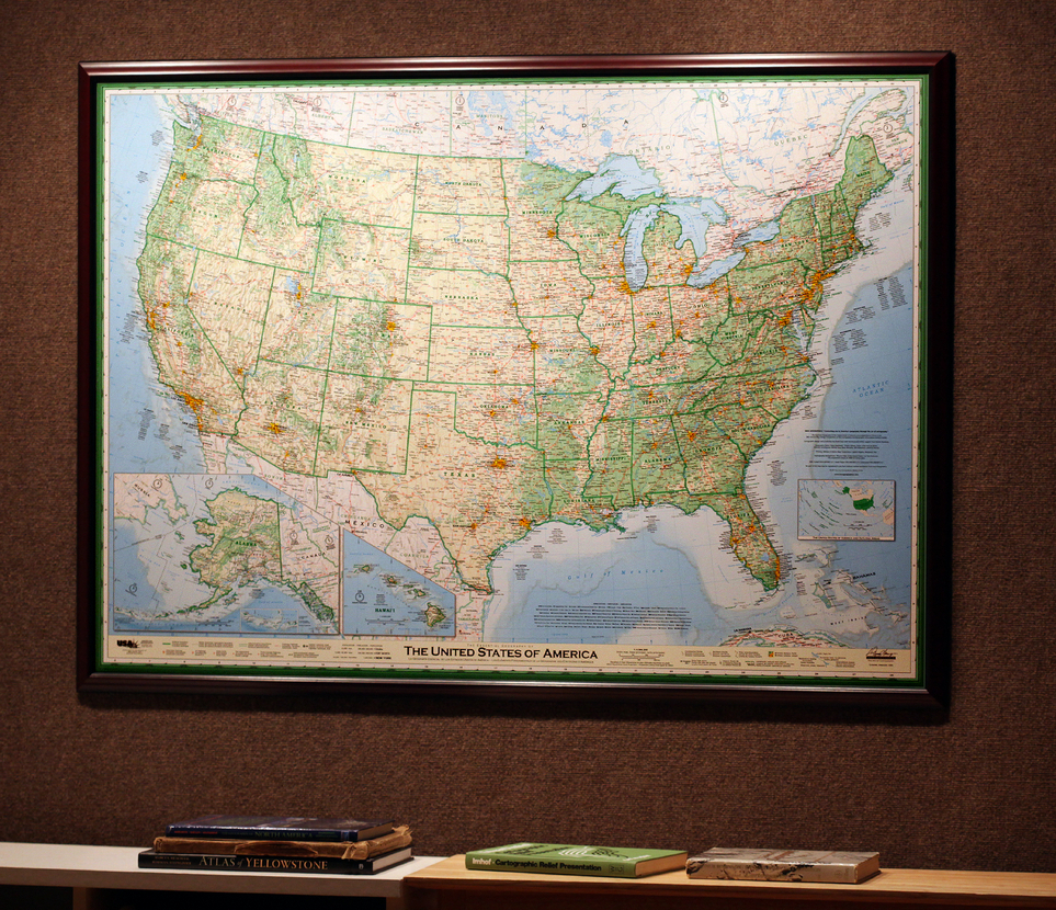 Map Of United States The Essential Geography Of The United - A picture of the united states of america map