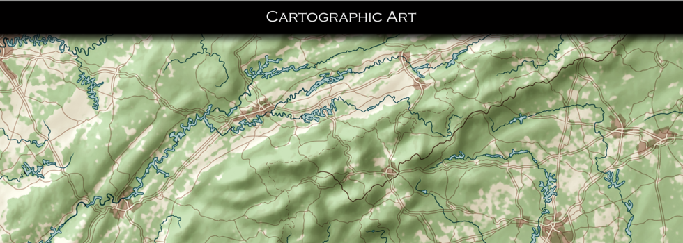 Cartographic Art with Ten Val