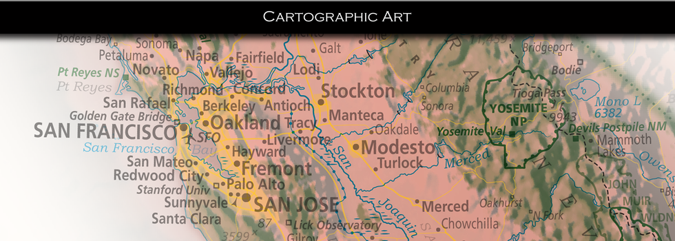 Cartographic Art with EVCA