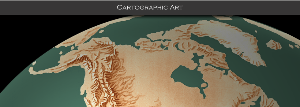 Cartographic Art with Mosaic