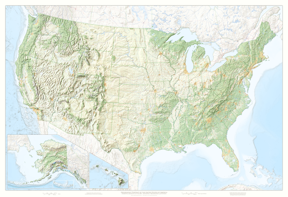 Map of the USA | Geographic Maps