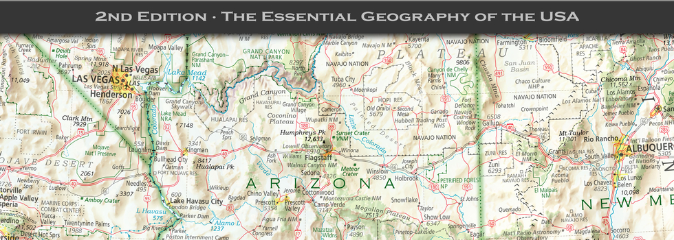 Maps of the USA | USA maps | Imus Geographics