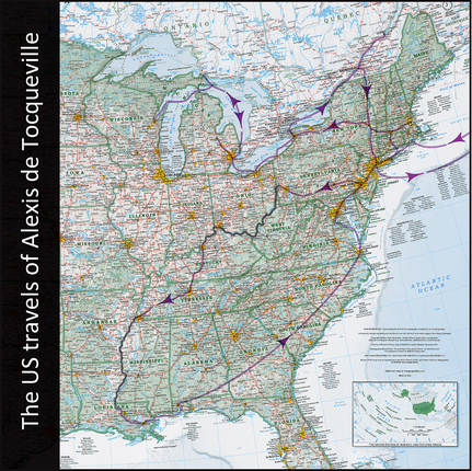 Travels of Alex de Tocqueville | ReDiscover the USA