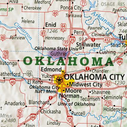 Guthrie, Oklahoma | ReDiscover the USA