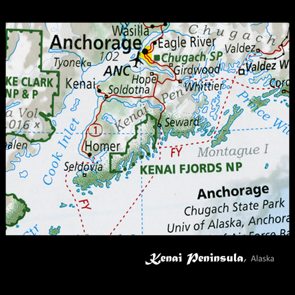 Kenai Peninsula Alaska Map.Kenai Peninsula Alaska Rediscover The Usa