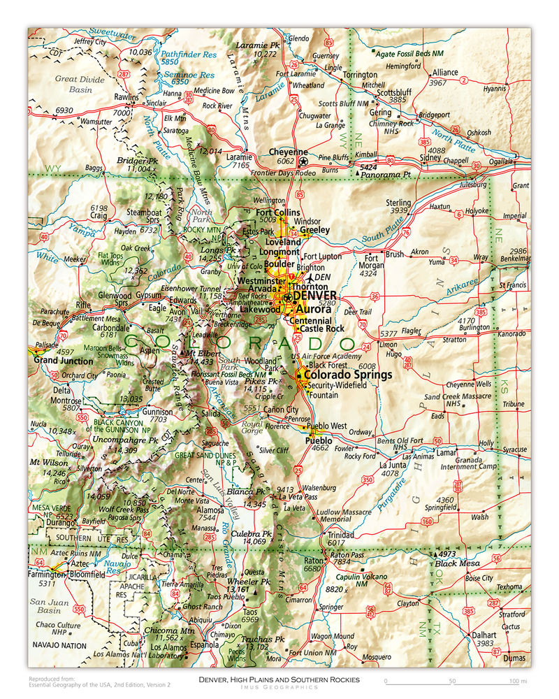 Denver, High Plains and Southern Rockies | State and Regional Portraits