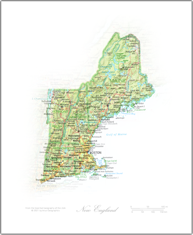 New England | NEW: State and Regional Portraits