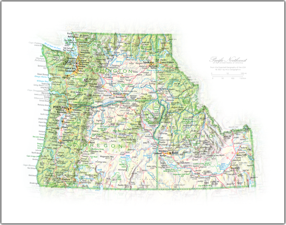 Pacific Northwest | NEW: State and Regional Portraits