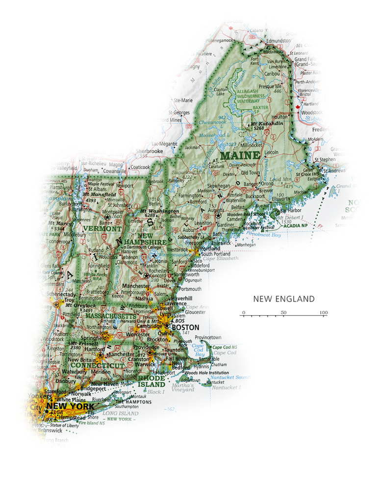 New England | State and Regional Portraits