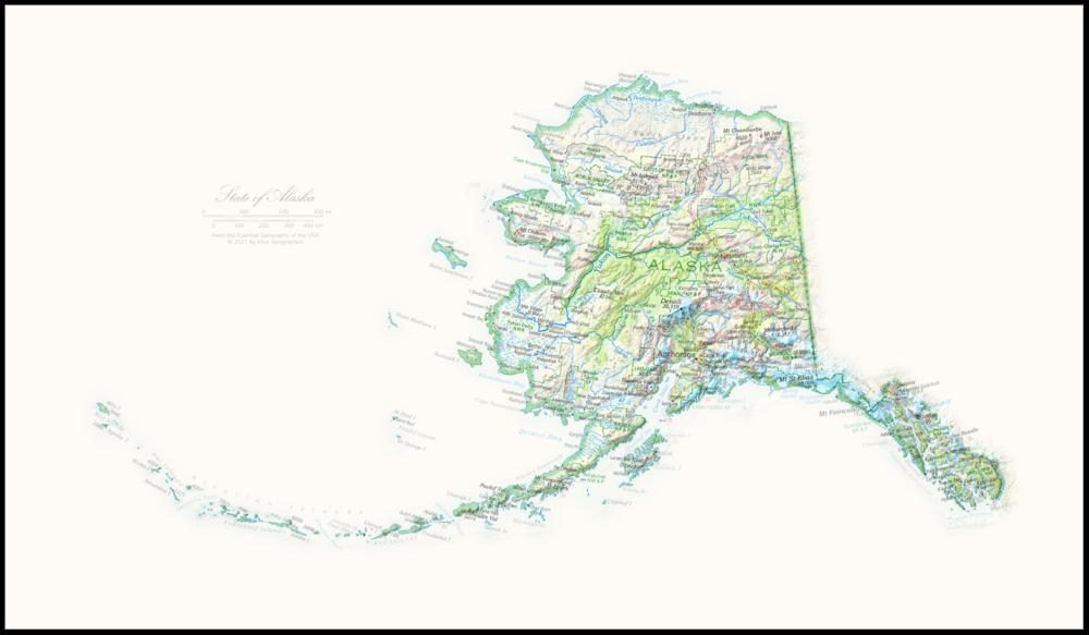 Portrait of Alaska   NEW: State and Regional Portraits