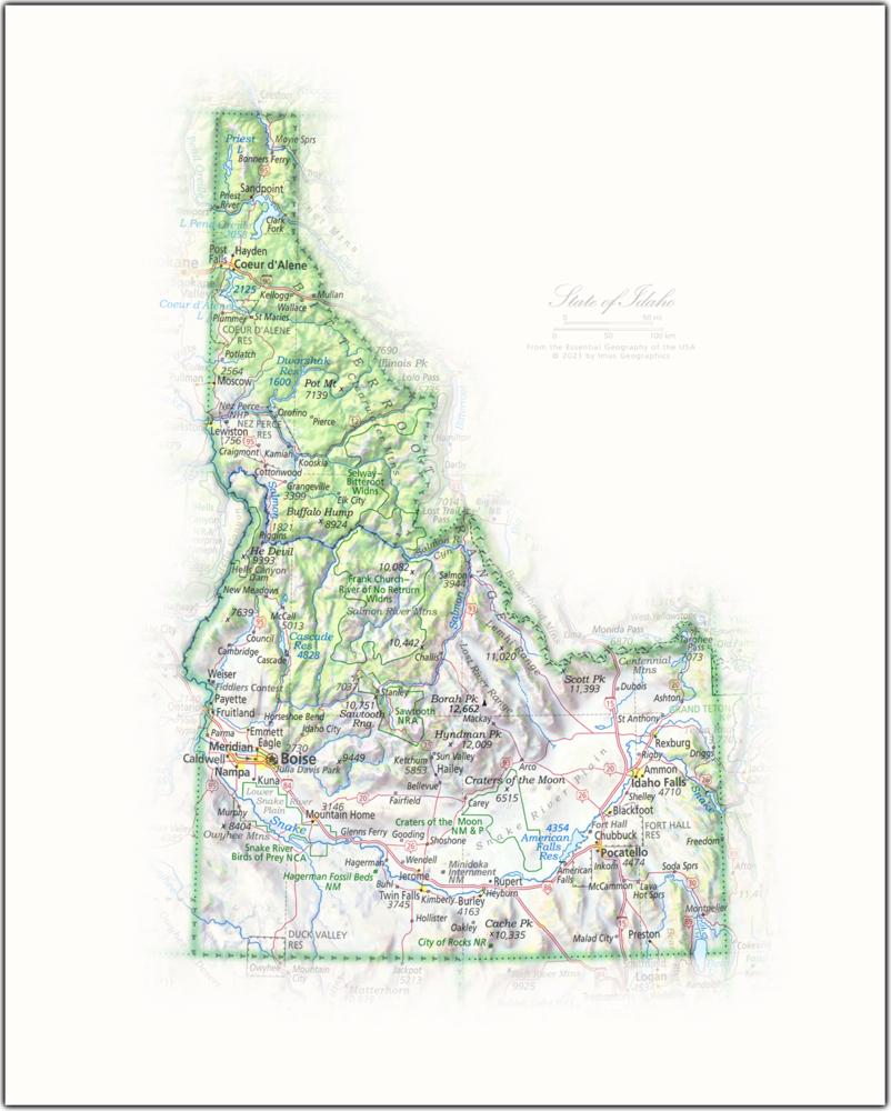 State of Idaho | State Portraits