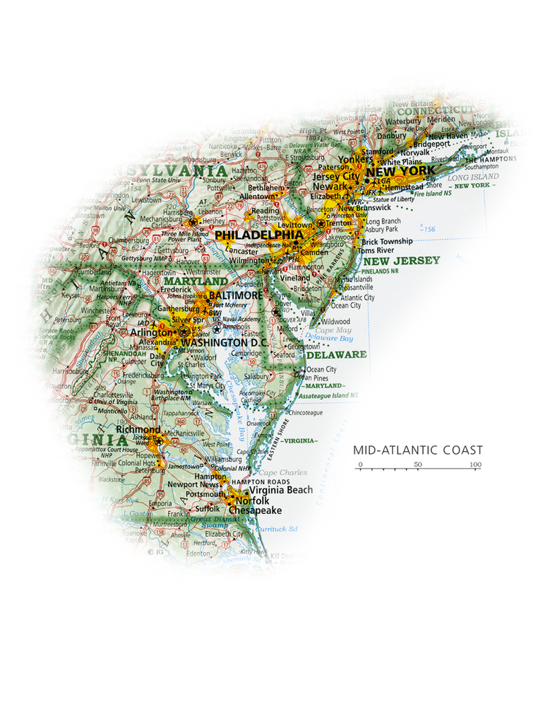 Mid-Atlantic Coast | State and Regional Portraits