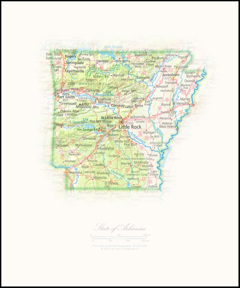 Arkansas Portrait | 2nd Edition State Portraits