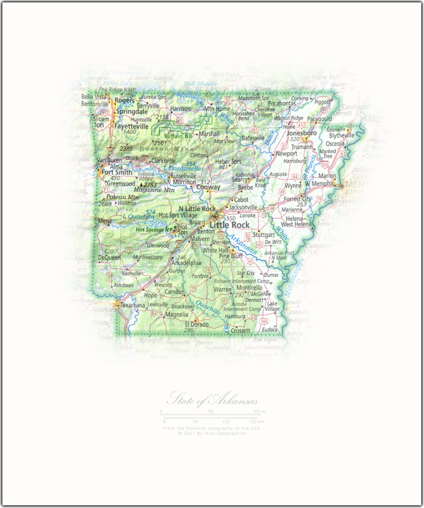 State of Arkansas | State Portraits