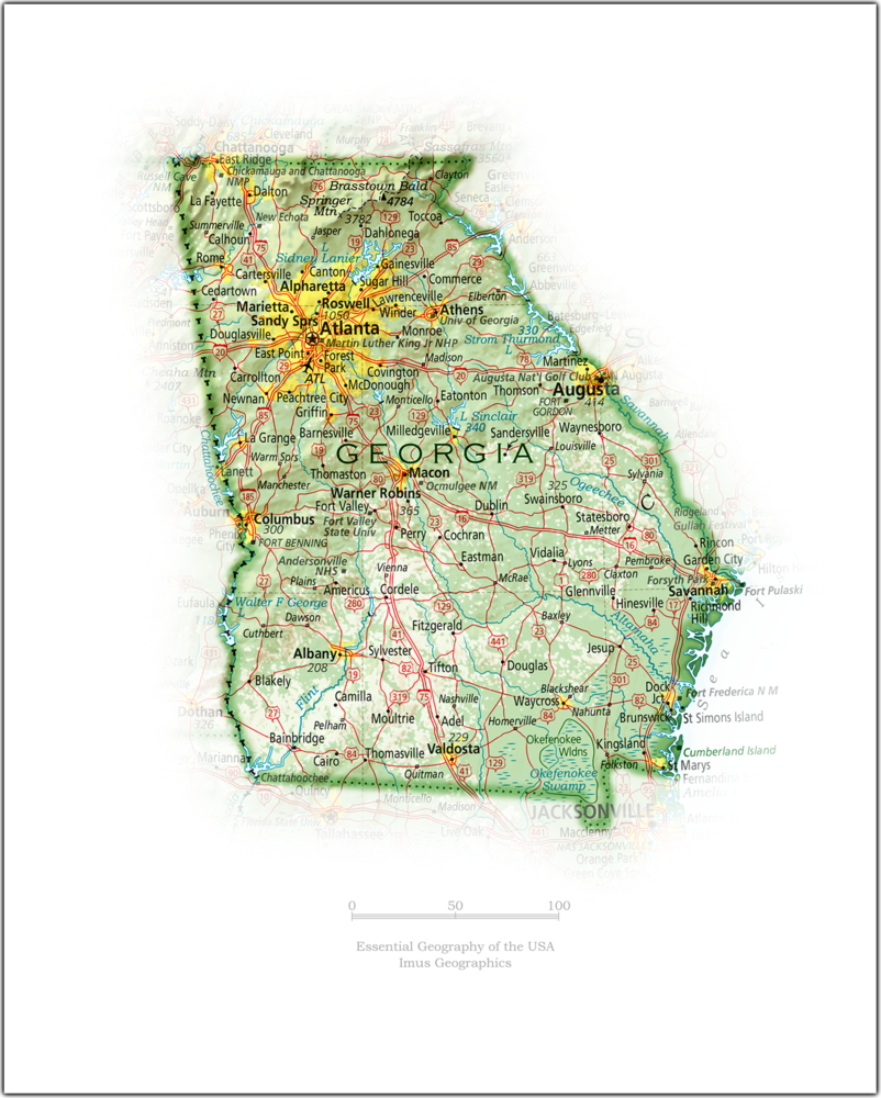 Portrait of Georgia | State and Regional Portraits