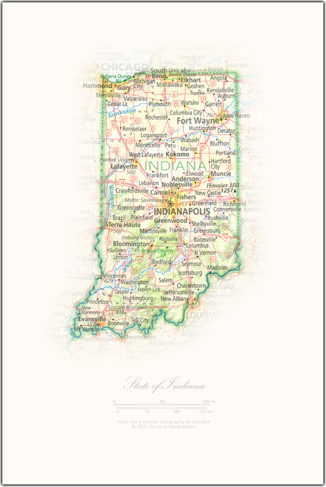 Portrait of Indiana | NEW: State and Regional Portraits