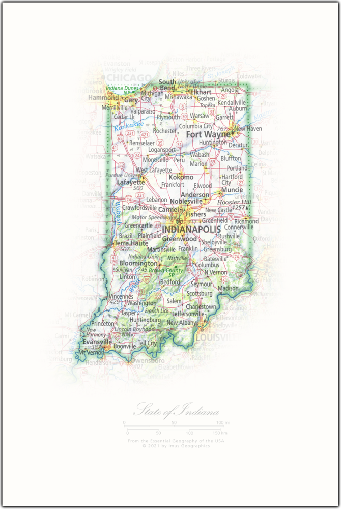 State of Indiana | State Portraits