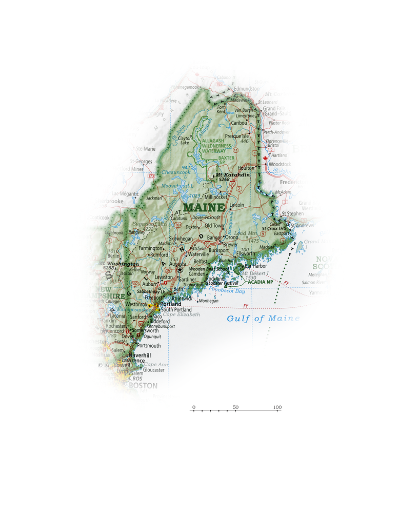 Maine | State and Regional Portraits