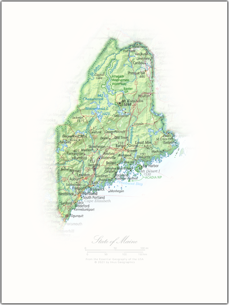 State of Maine | State and Regional Portraits