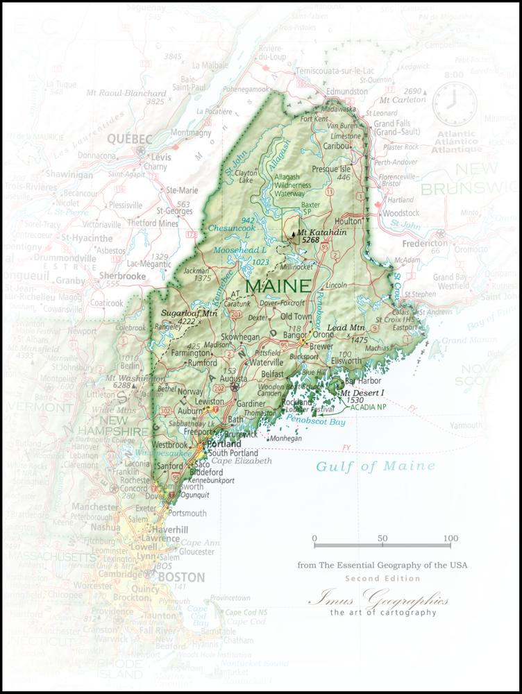 Maine Portrait | 2nd Edition State Portraits