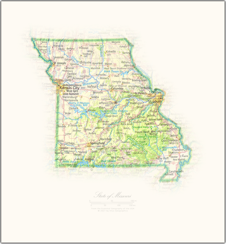 State of Missouri | State and Regional Portraits