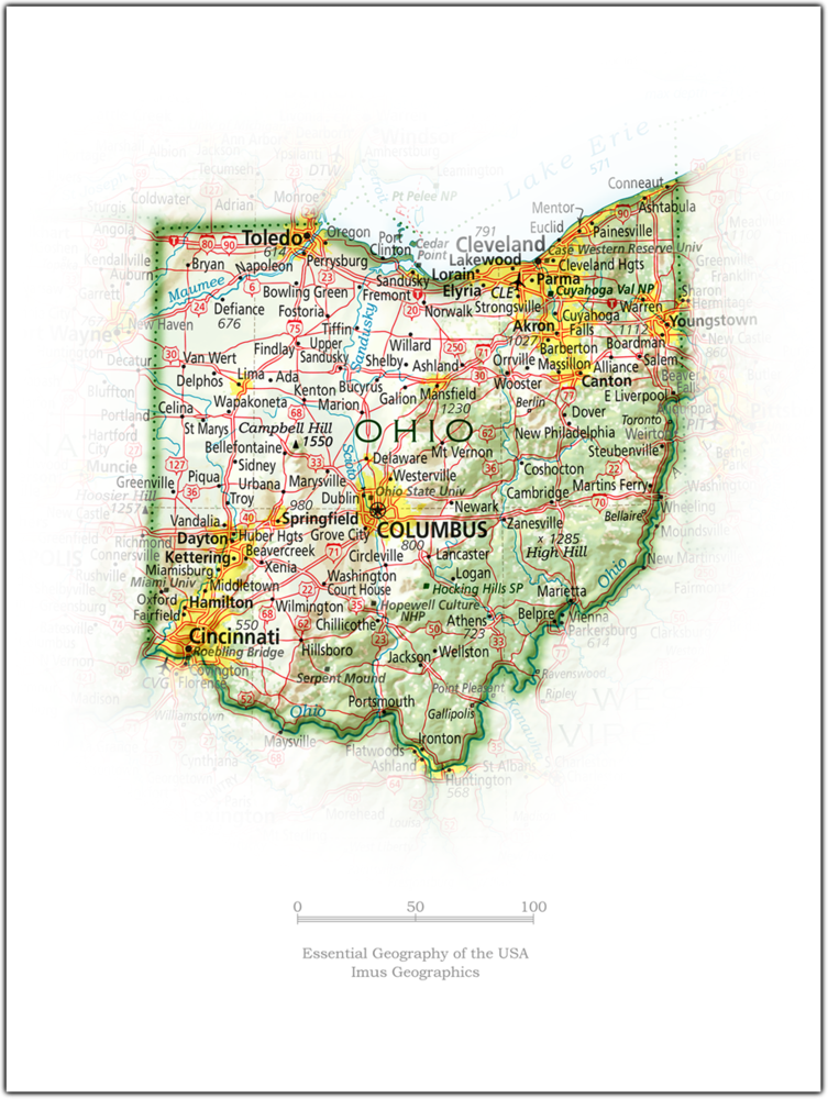 Ohio Portrait | 2nd Edition State Portraits