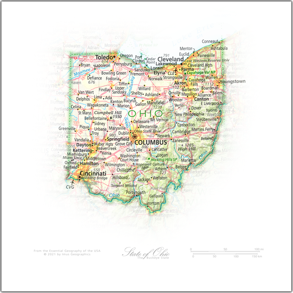 Portrait of Ohio   NEW: State and Regional Portraits