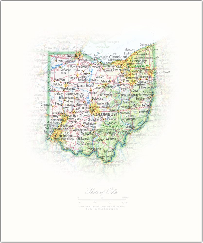 State of Ohio   State and Regional Portraits