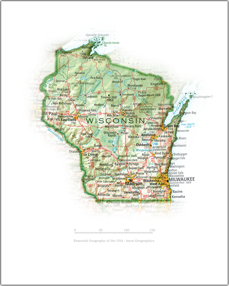 Wisconsin Portrait | 2nd Edition State Portraits