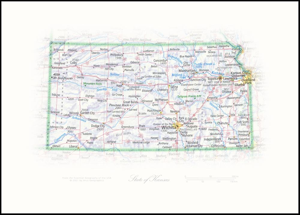 State of Kansas   State Portraits