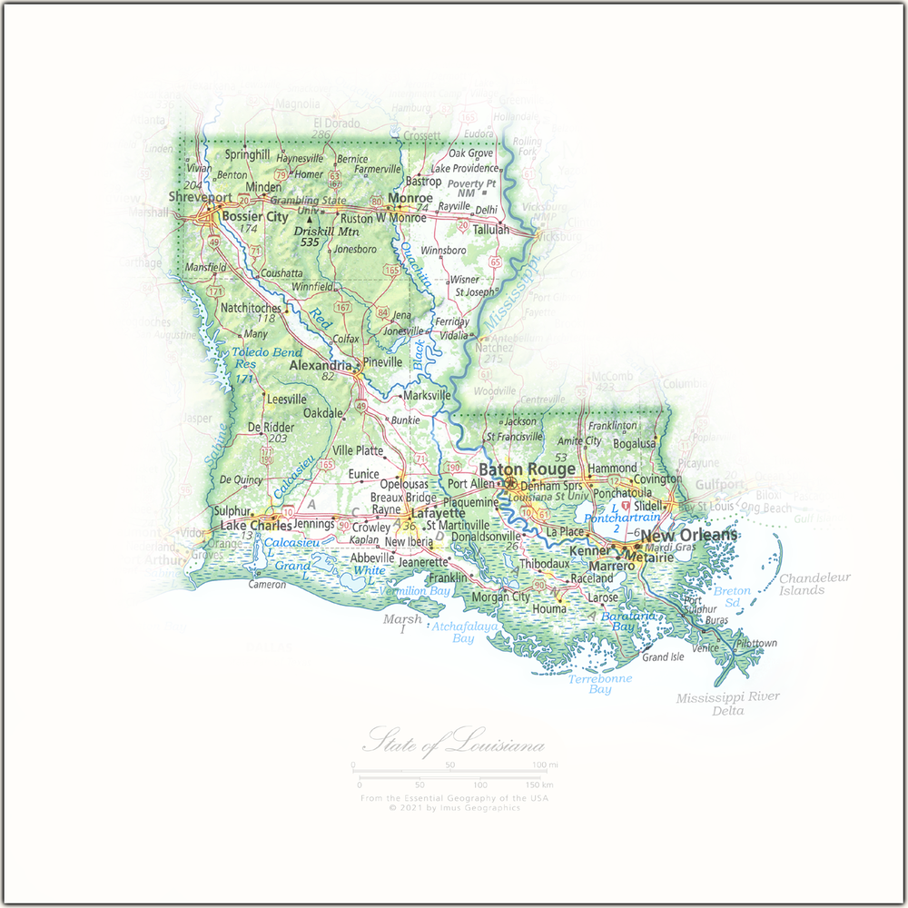 Portrait of Louisiana | State and Regional Portraits