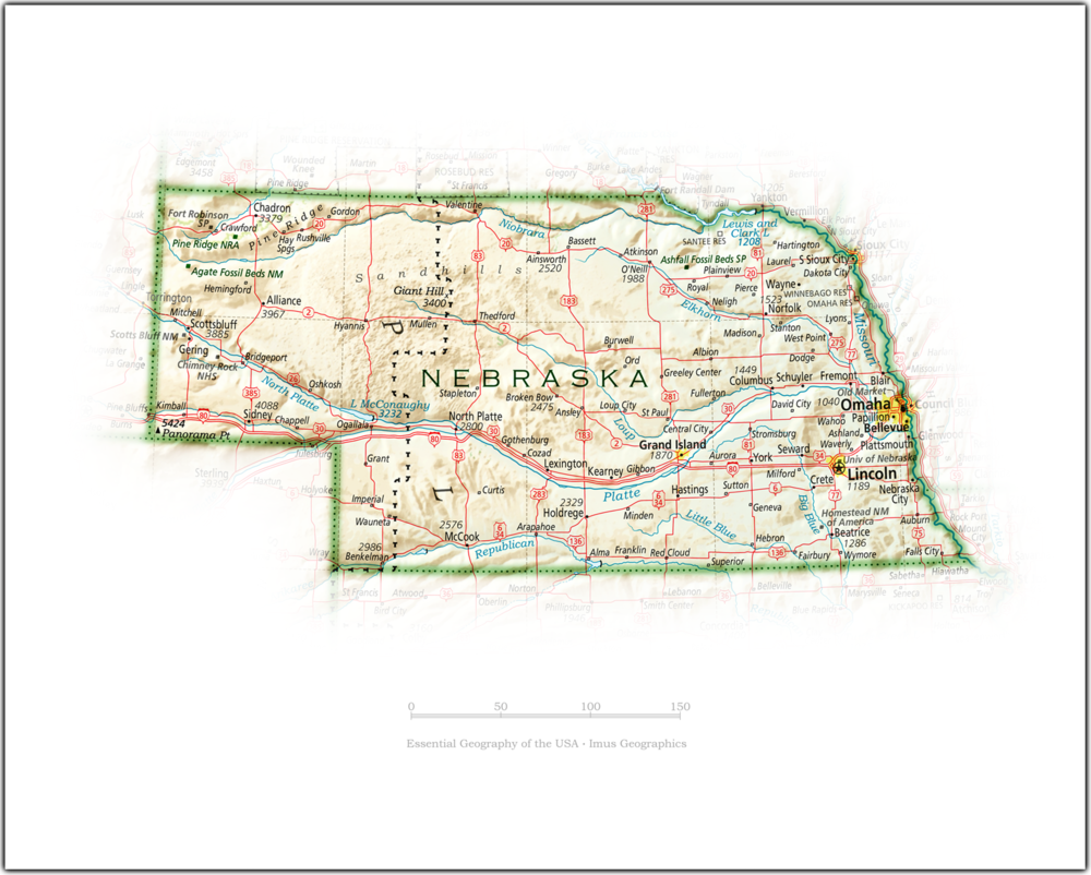Portrait of Nebraska | State and Regional Portraits