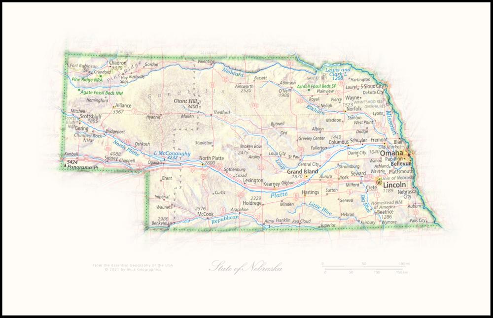 State of Nebraska | State and Regional Portraits