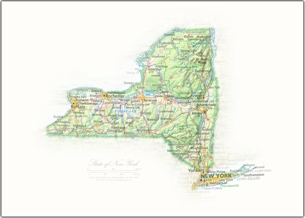 State of New York | State and Regional Portraits