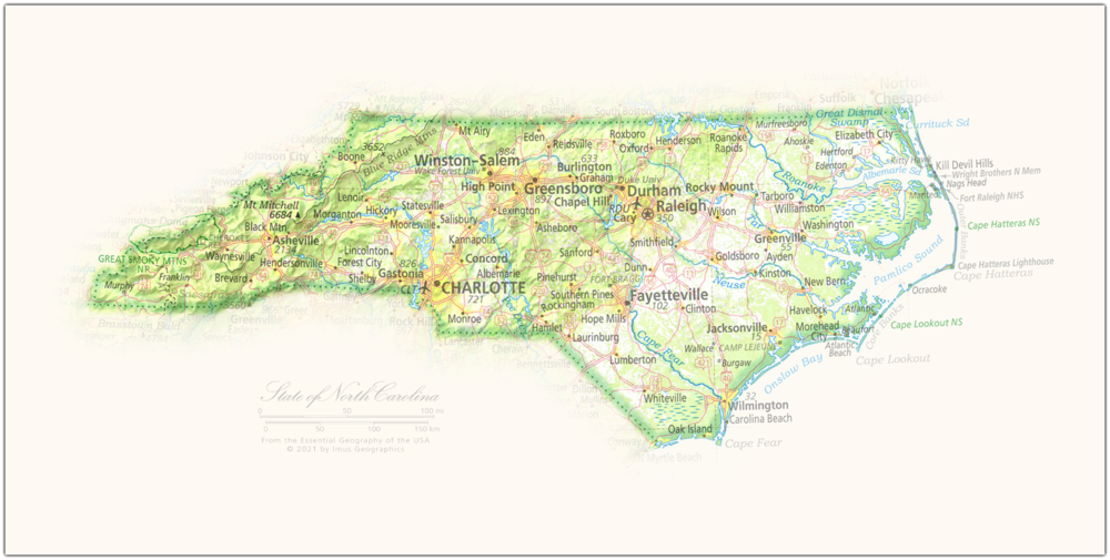 State of North Carolina | State and Regional Portraits