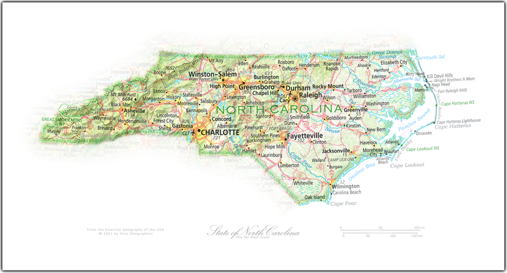 Portrait of North Carolina | NEW: State and Regional Portraits