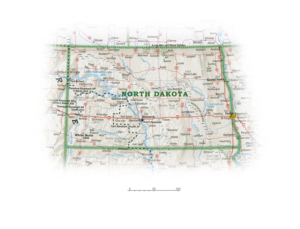 North Dakota | State and Regional Portraits
