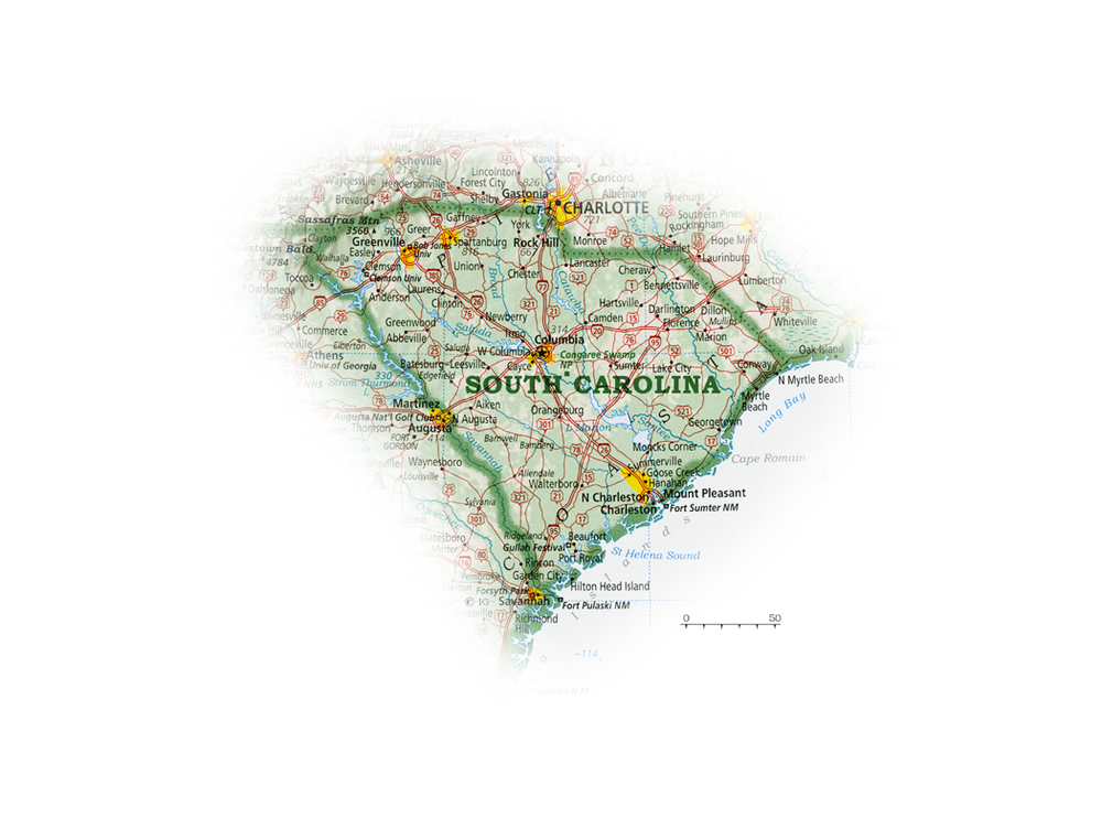 South Carolina | State and Regional Portraits