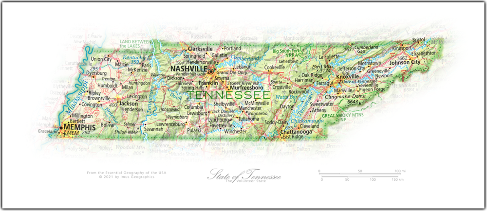 Portrait of Tennessee | NEW: State and Regional Portraits