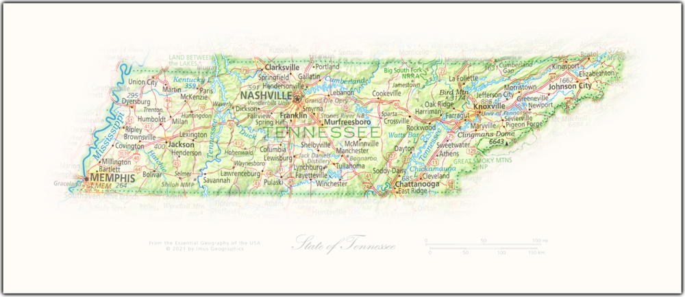 Portrait of Tennessee | State and Regional Portraits
