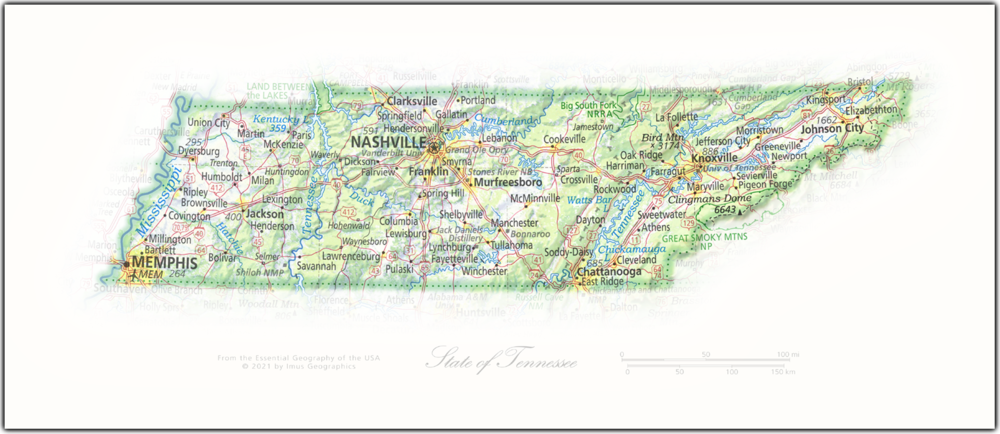 State of Tennessee | State and Regional Portraits
