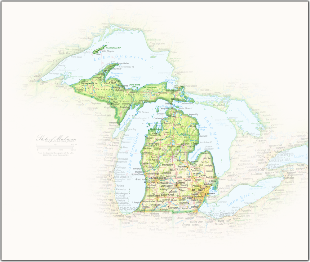 Michigan Portrait | 2nd Edition State Portraits