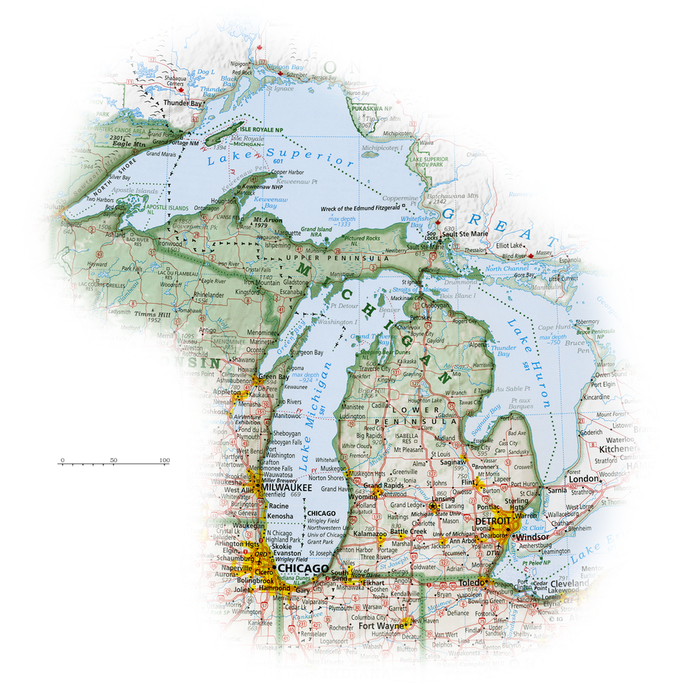 Michigan   State and Regional Portraits