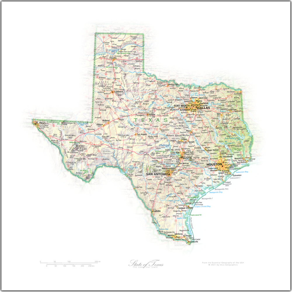Portrait of Texas   NEW: State and Regional Portraits