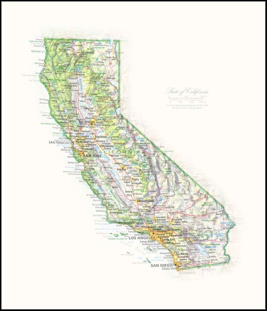 California Portrait | 2nd Edition State Portraits