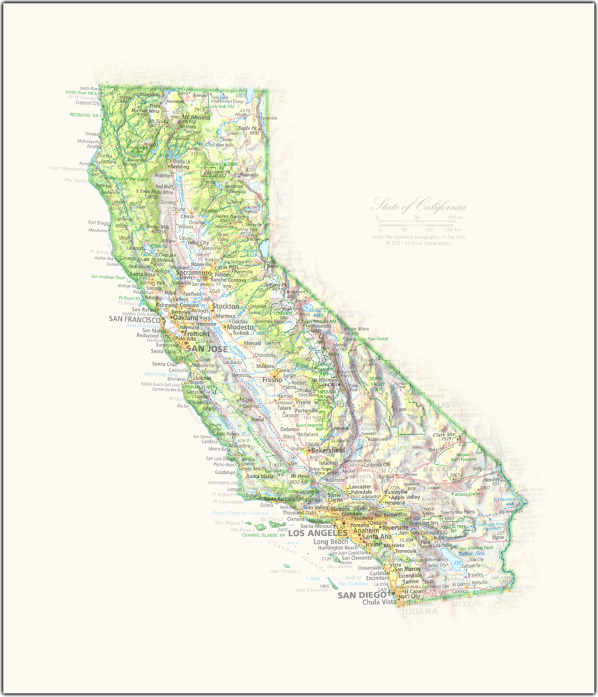 Portrait of California | NEW: State and Regional Portraits