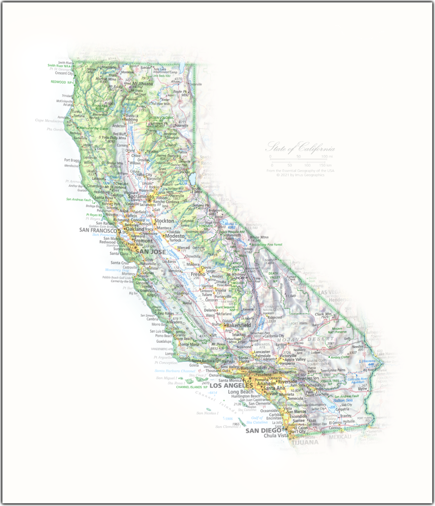State of California | State and Regional Portraits