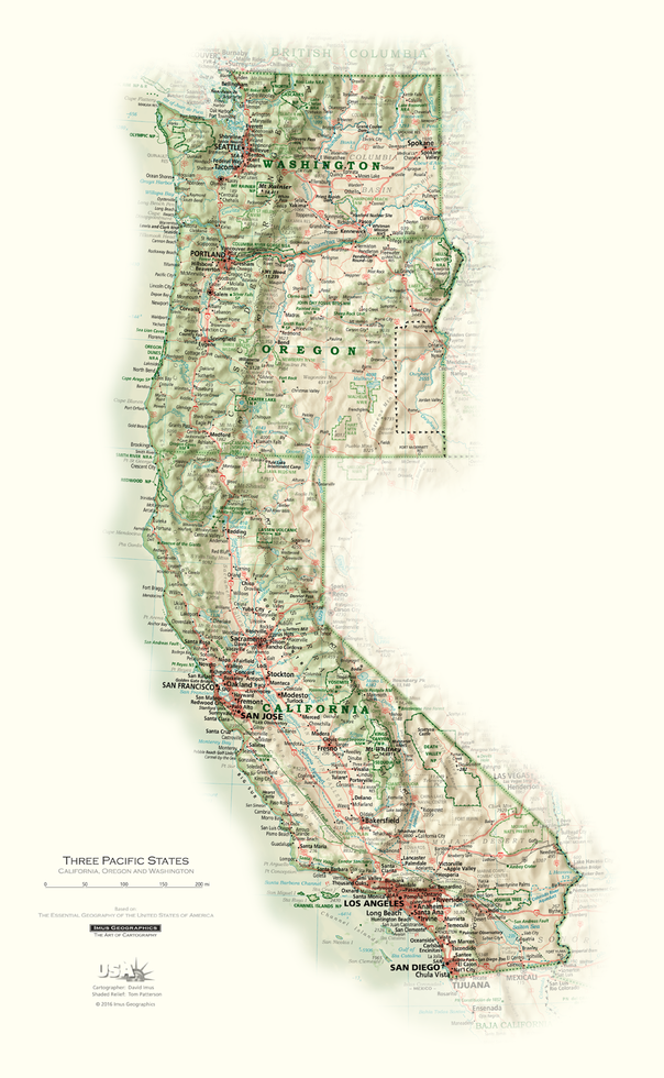Three Pacific States | State and Regional Portraits